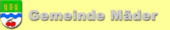 Gemeinde Maeder